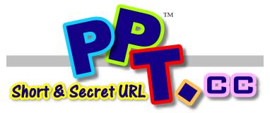 PPT.cc縮網址