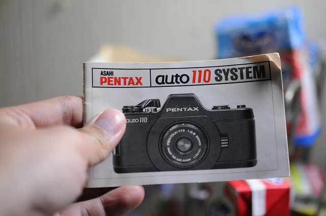 Pentax auto110 to micro 4/3